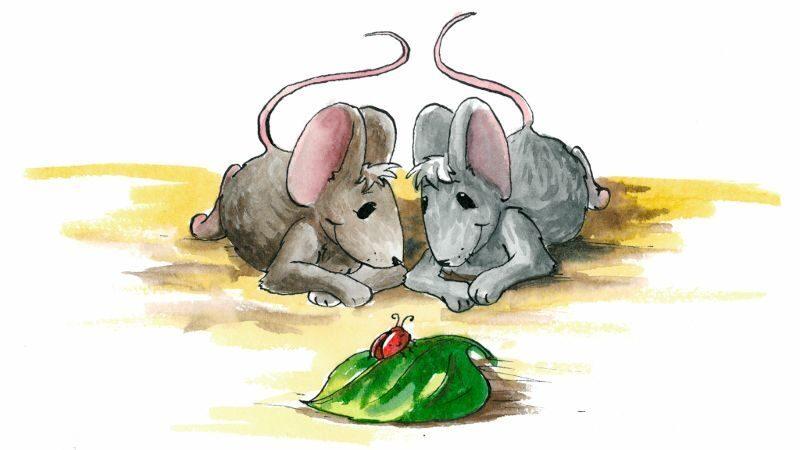 мама мышь с мышатами картинка дизайне ресторана
